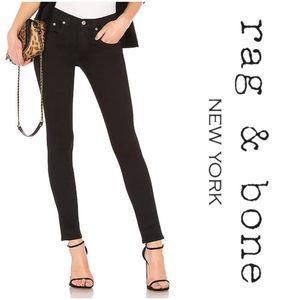 Rag & Bone skinny jeans in coal Size 24
